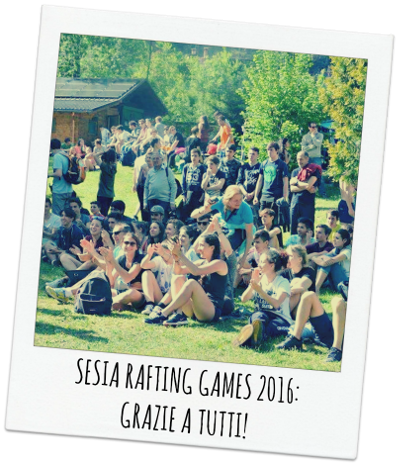 SESIA RAFTING GAMES in valsesia
