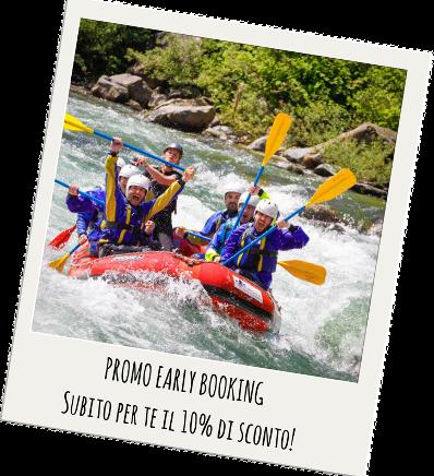 rafting in promozione