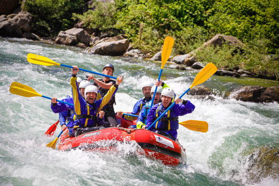 Addio al Celibato in rafting